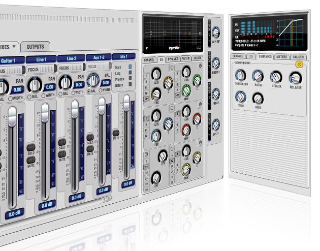 00 microbook iic提供一个麦克风输入,一个吉他输入,键盘或其他音响